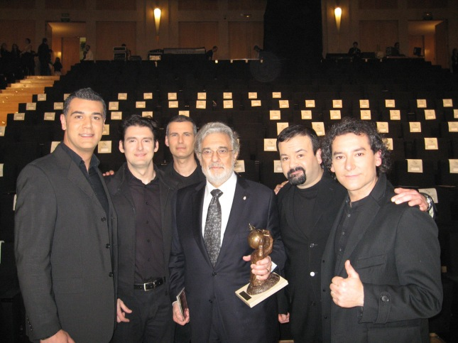 Bvocal y PLacido Domingo